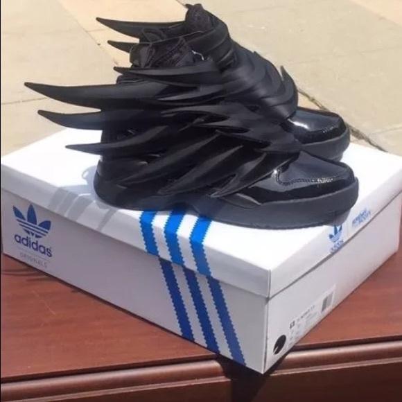 Adidas Jeremy Scott Wings Dark Knight Batman Shoes